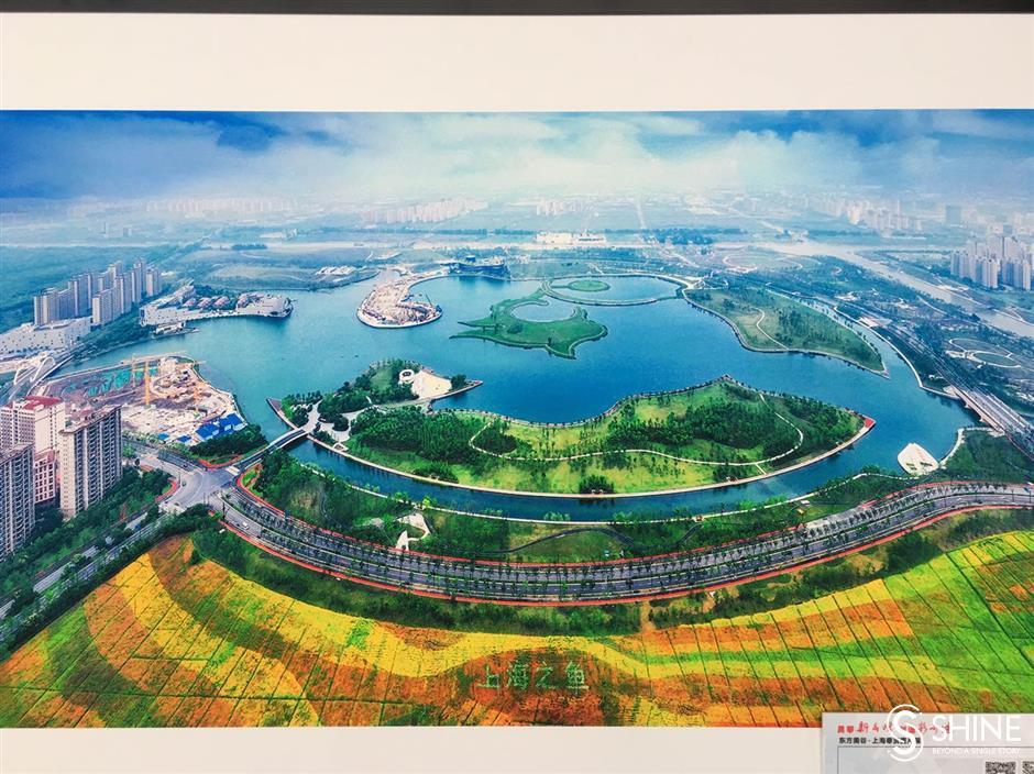 Shanghai Tower show forFengxian's charm
