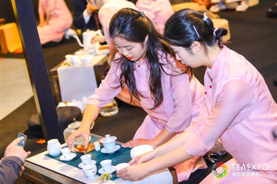 Major tea fair opens in Pudong