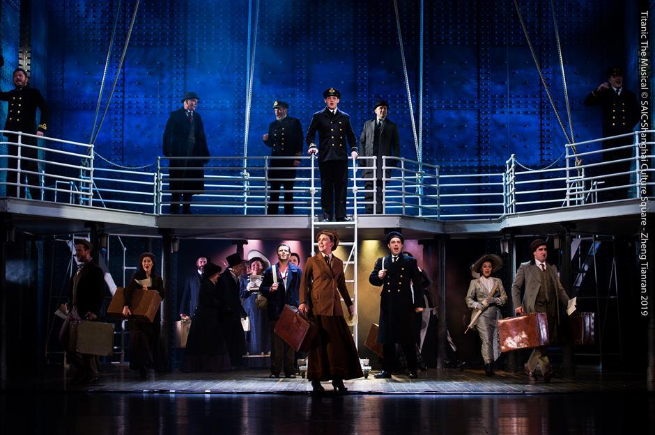 Musical 'Titanic' docks at Shanghai