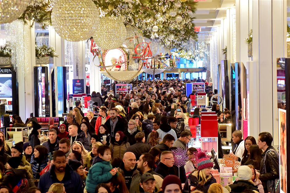 US online shoppers spend record US$4.2b on Thanksgiving