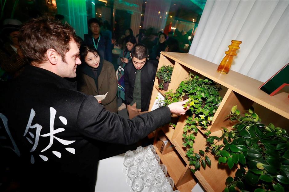 Art festival kicks off at Sinan Mansions with light, food