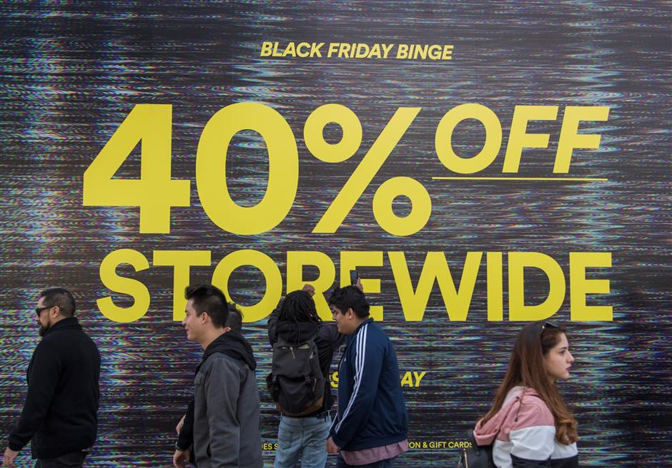 US online shoppers spend US$7.4b on Black Friday