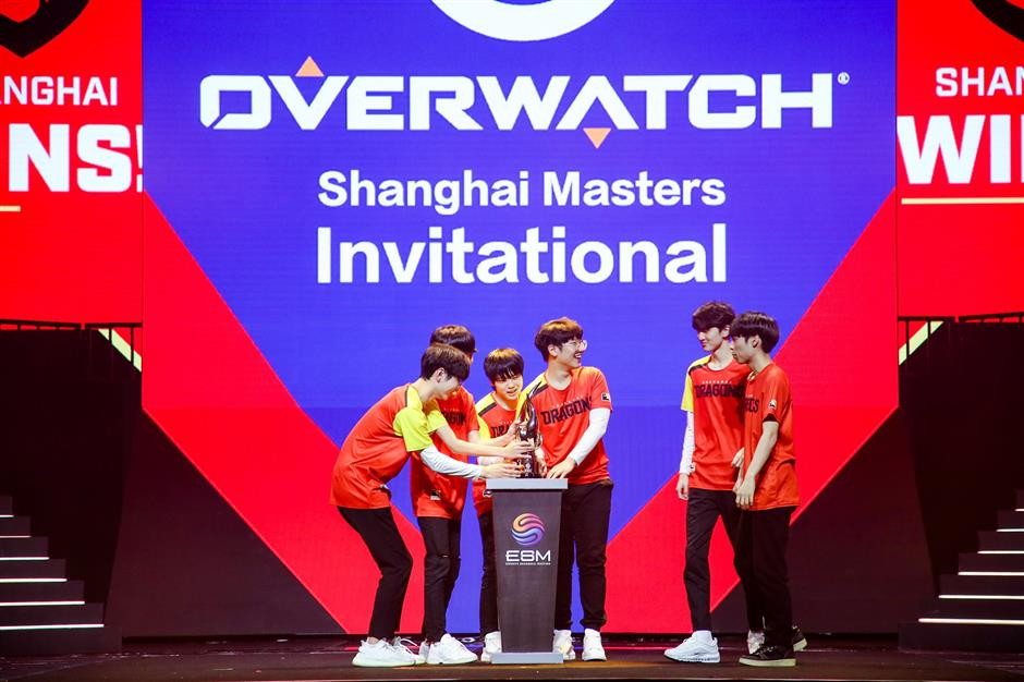 Home team wins Overwatch at eSports Shanghai Masters