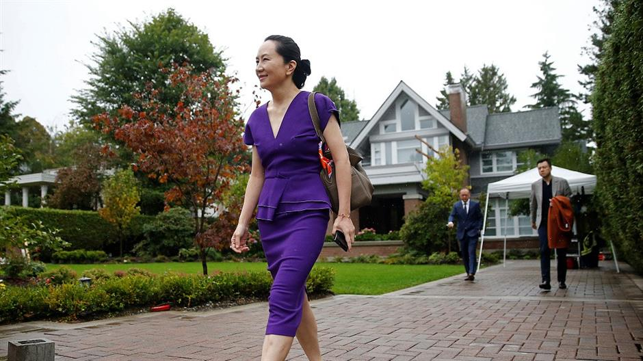China urges Canada to free Huawei executive Meng Wanzhou