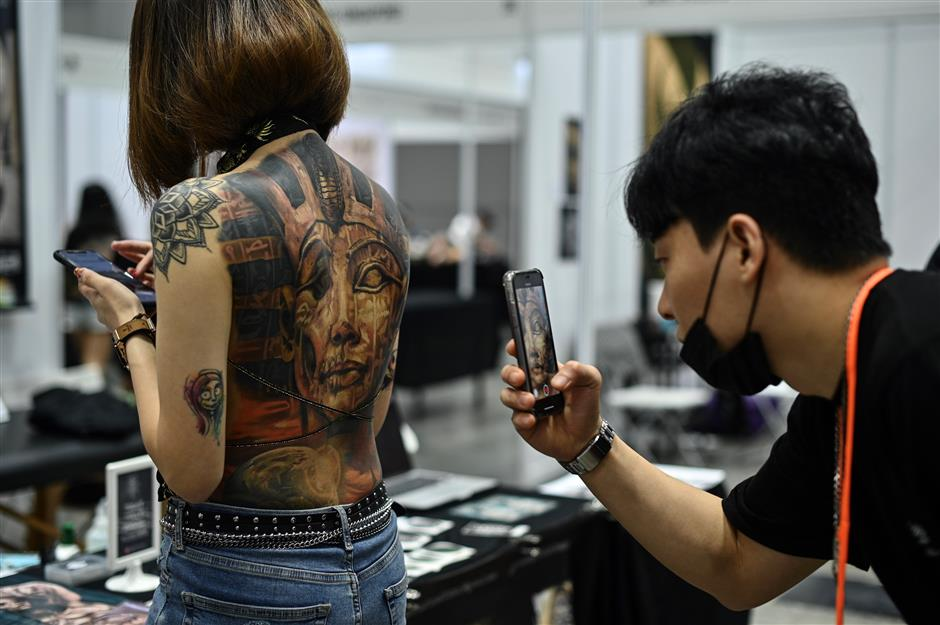 In Malaysia, 'half-naked' tattoo show upsets govt