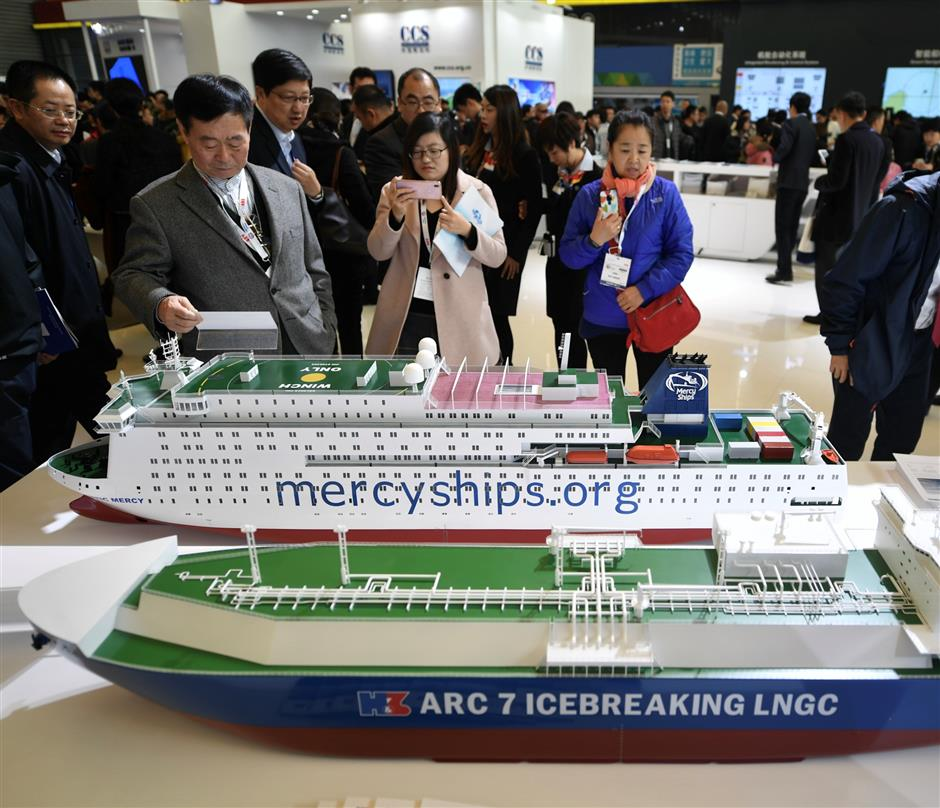 All things maritime at city show