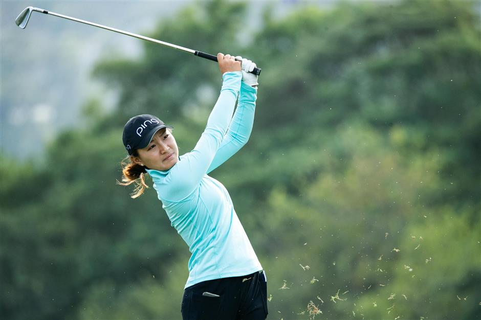 CLPGA money title within reach for Zhang