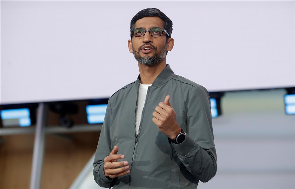 Google's Sundar Pichai named CEO at parent firm Alphabet