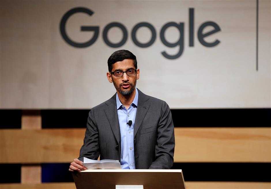 Pichai at helm as Google co-founders step aside