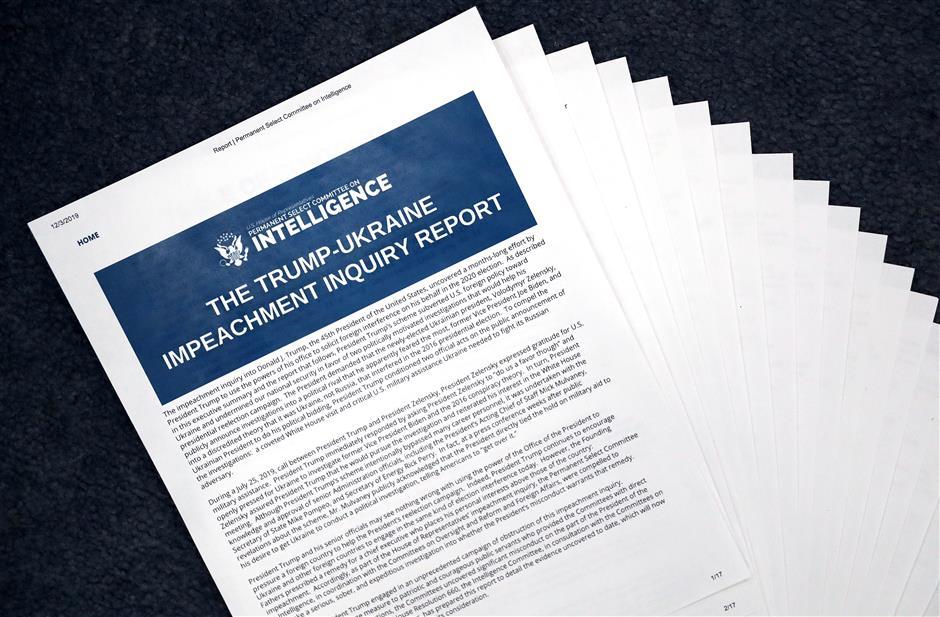 Democrat report makes forceful impeachment case against Trump