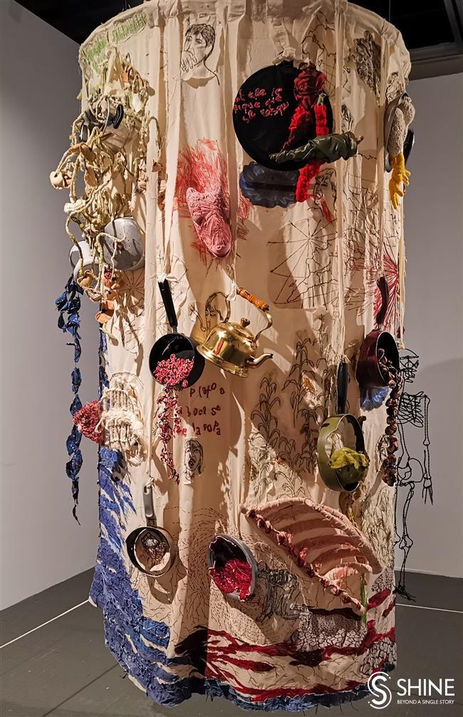Weaving strands of international fiber art