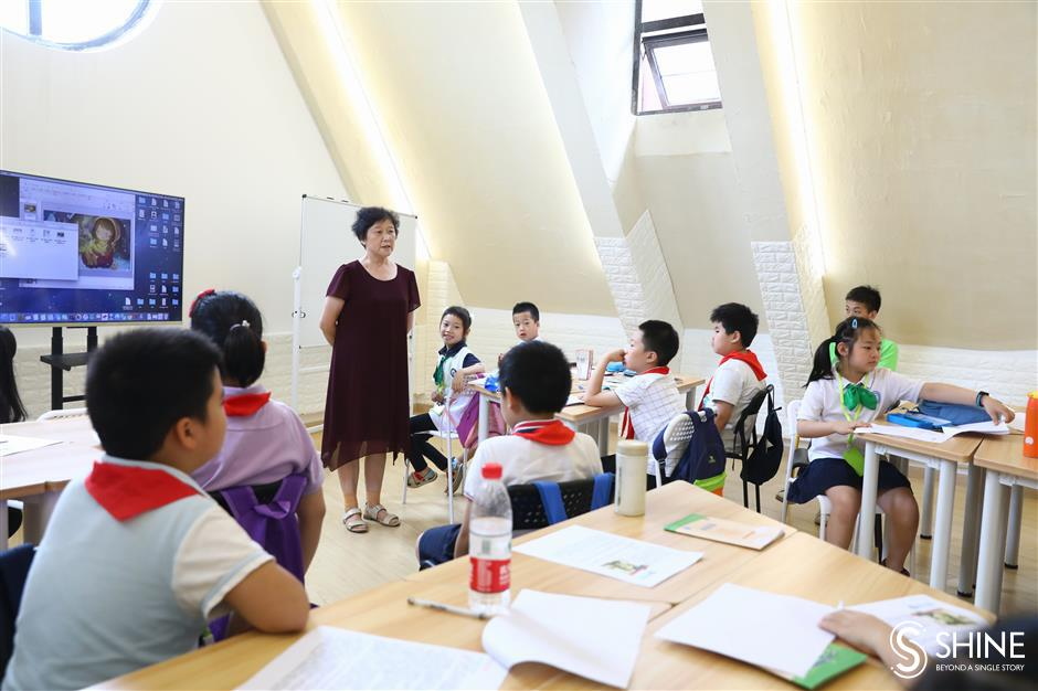 New report grades state of education in Shanghai