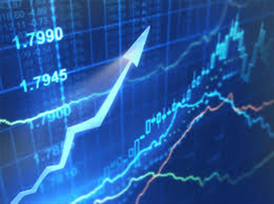 Shanghai stocks finish week in positive territory