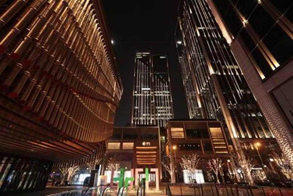 Shanghai's newest shopping, business and lifestyle center opens