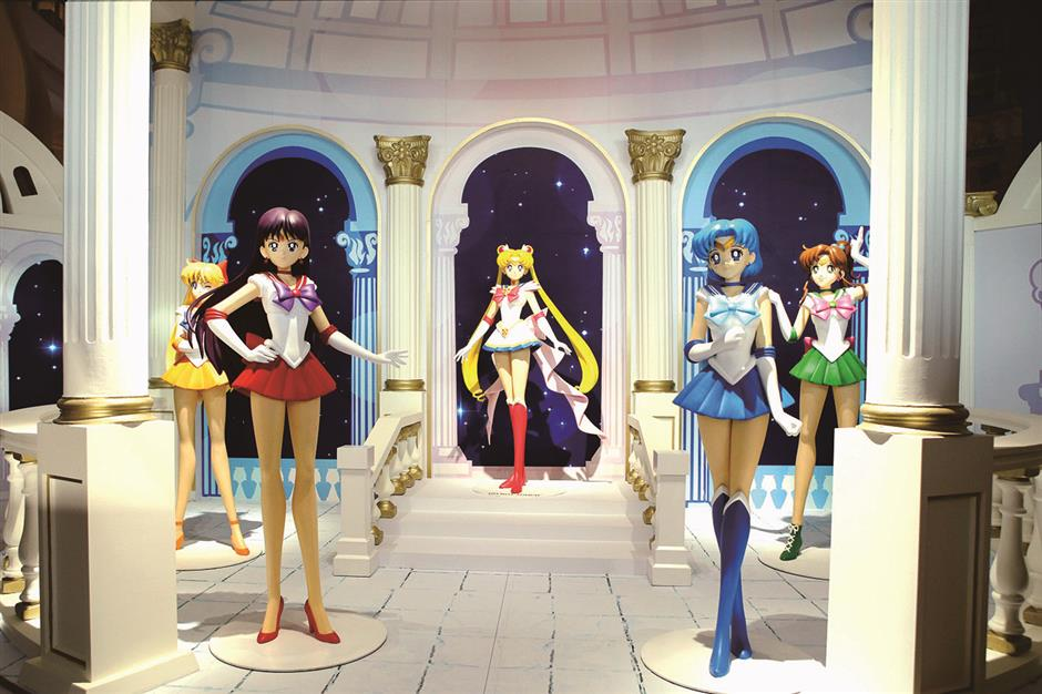 Champion of justice Sailor Moon swoops into Joy City
