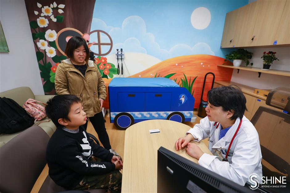 GP service introduced at VIP department of children's hospital