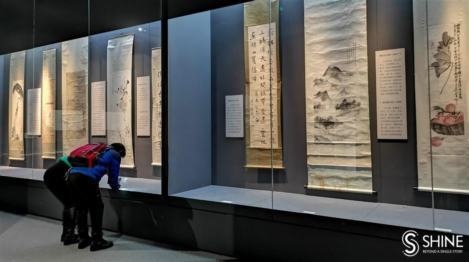 Zhejiang Museum exhibits donated artworks