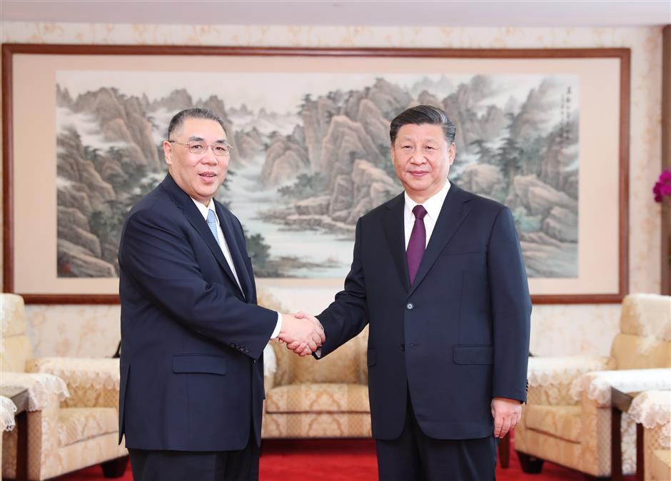 Xi hails Macau's achievements, progress