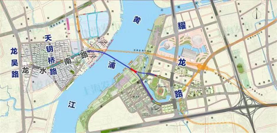 5 major projects under way near Huangpu River