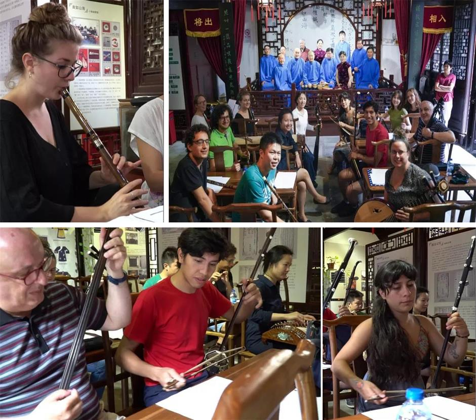 Swiss musicians tune up on Sijing visit