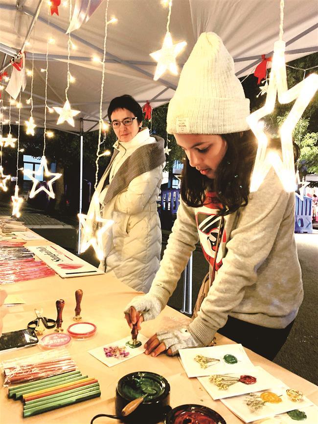 NAIS Pudong celebrates Christmas with holiday bazaar