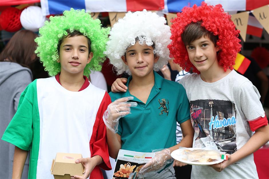 Celebrating international culture at the SCIS food fair