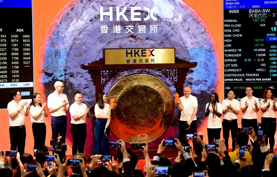 HKEX remains as world's top IPO market