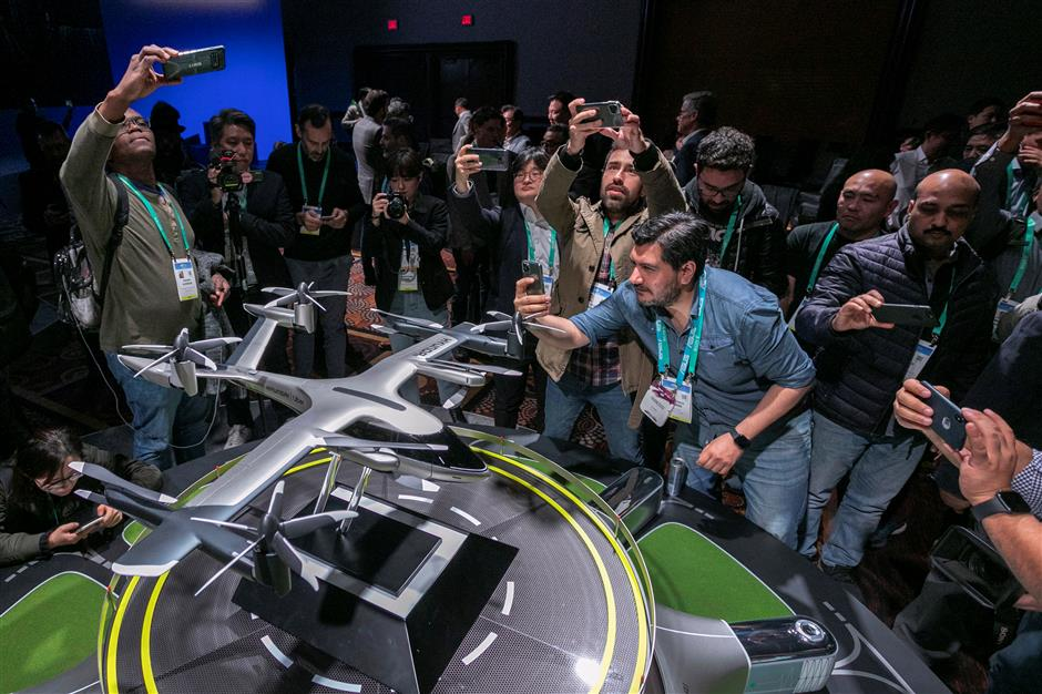Artificial humans, robots for loo, aerial cars on display at CES