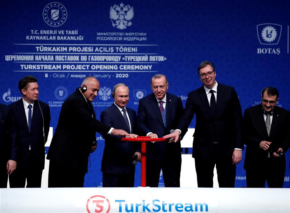 New Russian pipeline to supply Europe with gas