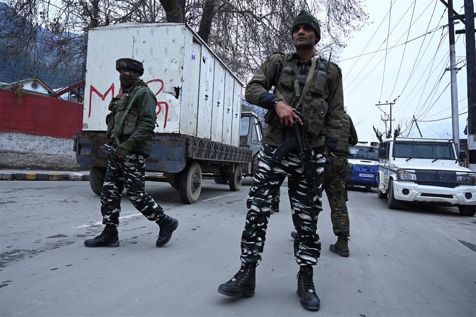 Diplomats taken on a rare visit to Kashmir