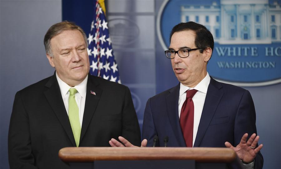 US slaps fresh sanctions against Iran after missile attacks