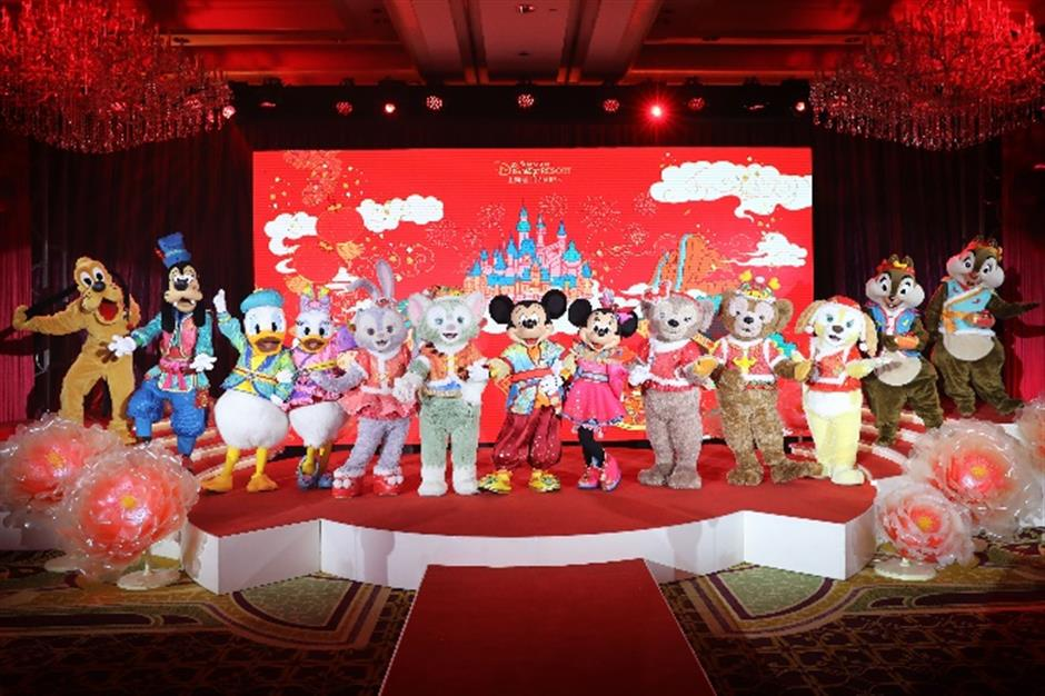 New costumes, decorations and treats at Shanghai Disney Resort during Spring Festival