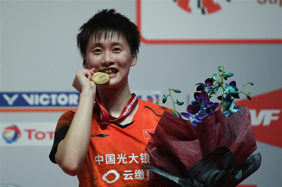 Chinese shuttlers bag three Malaysia Masters titles