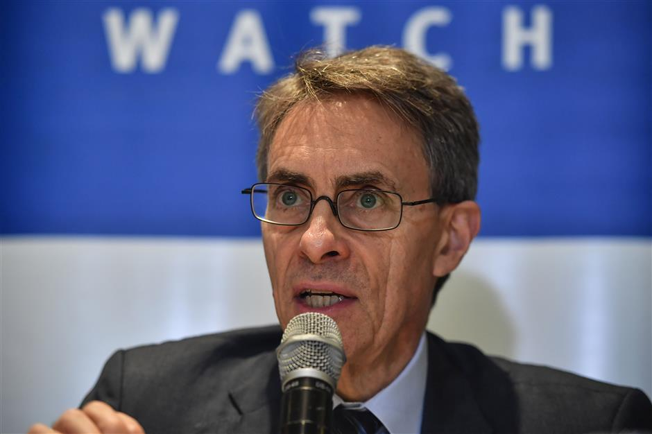 China confirms barring HRW chief from entering HK