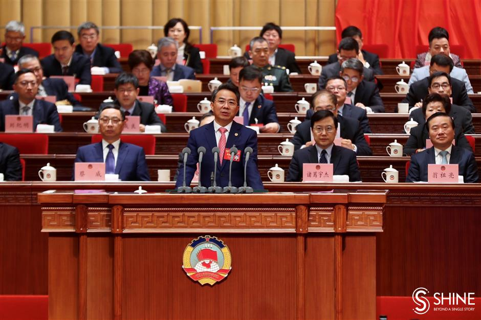 Annual political sessions kick off in Shanghai