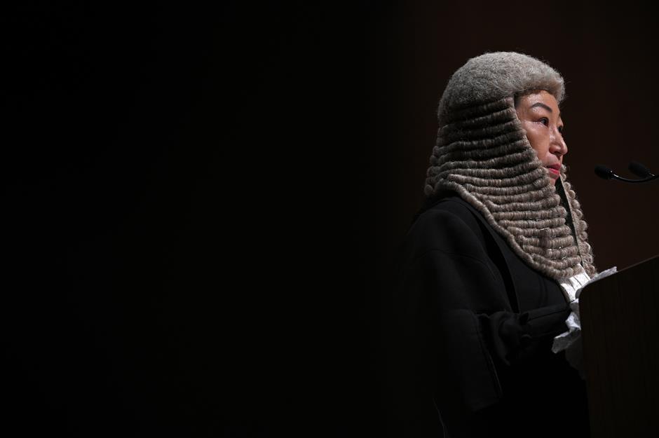 Turmoil poses challenge to Hong Kong's rule of law: senior official of HKSAR gov't