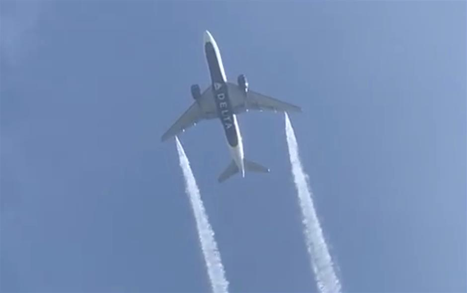 US airliner bound for Shanghai dumps fuel on kids