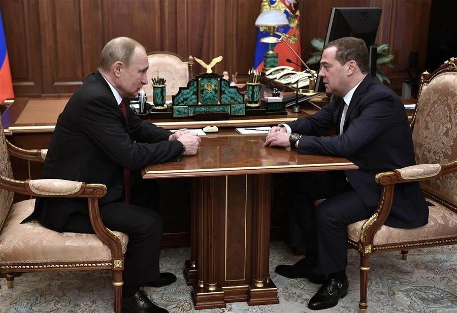 Russian gov't resigns after Putin's annual address
