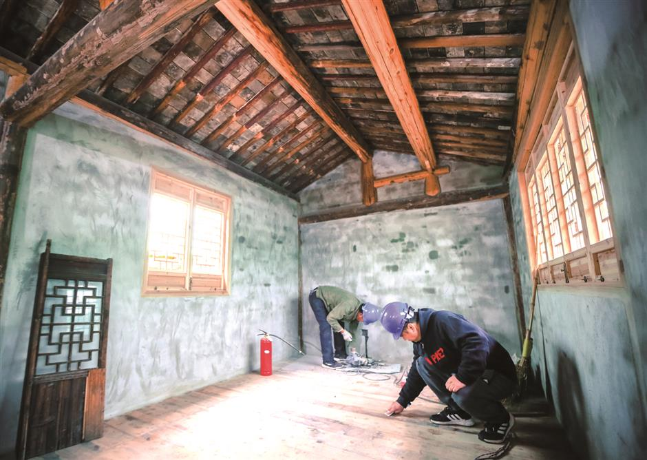 Fudan University founder's home is renewed