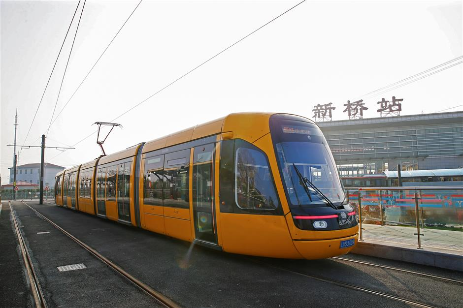Easy transfers as tram car extension opens