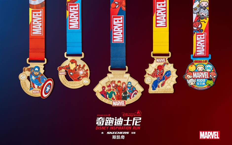 Spring Disney Inspiration Run revient avec un nouveau look sur le thème de Marvel