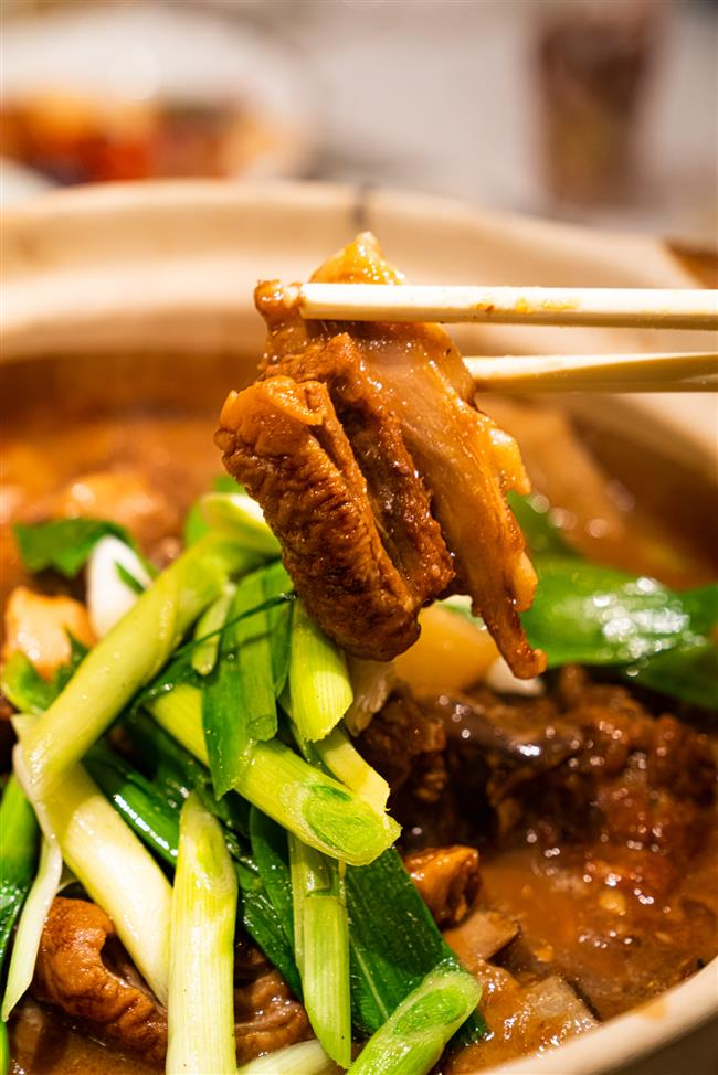 Warm yourself with roast duck, succulent crab and sizzling steak this holiday season