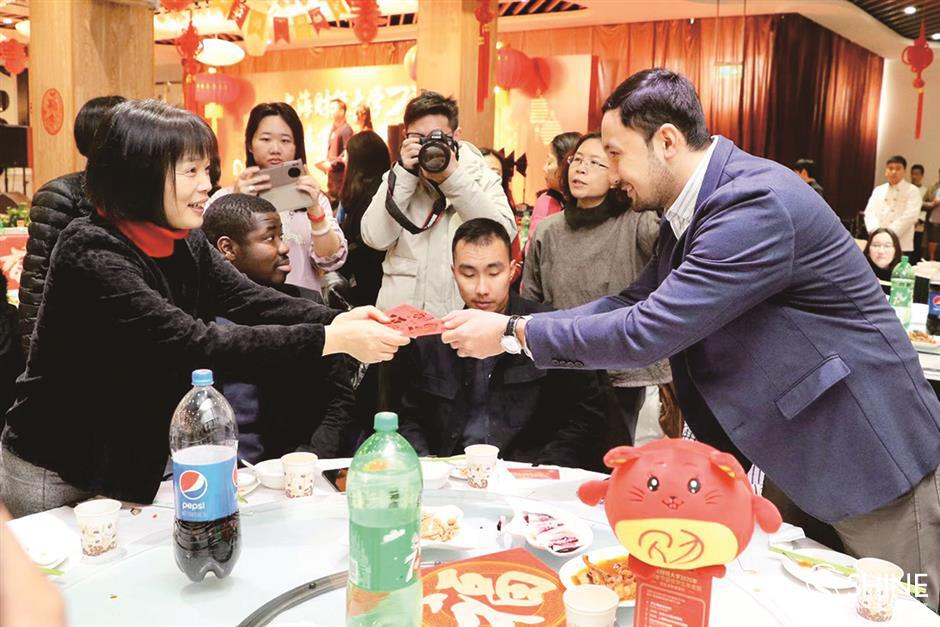 Early Spring Festival celebrations in universities