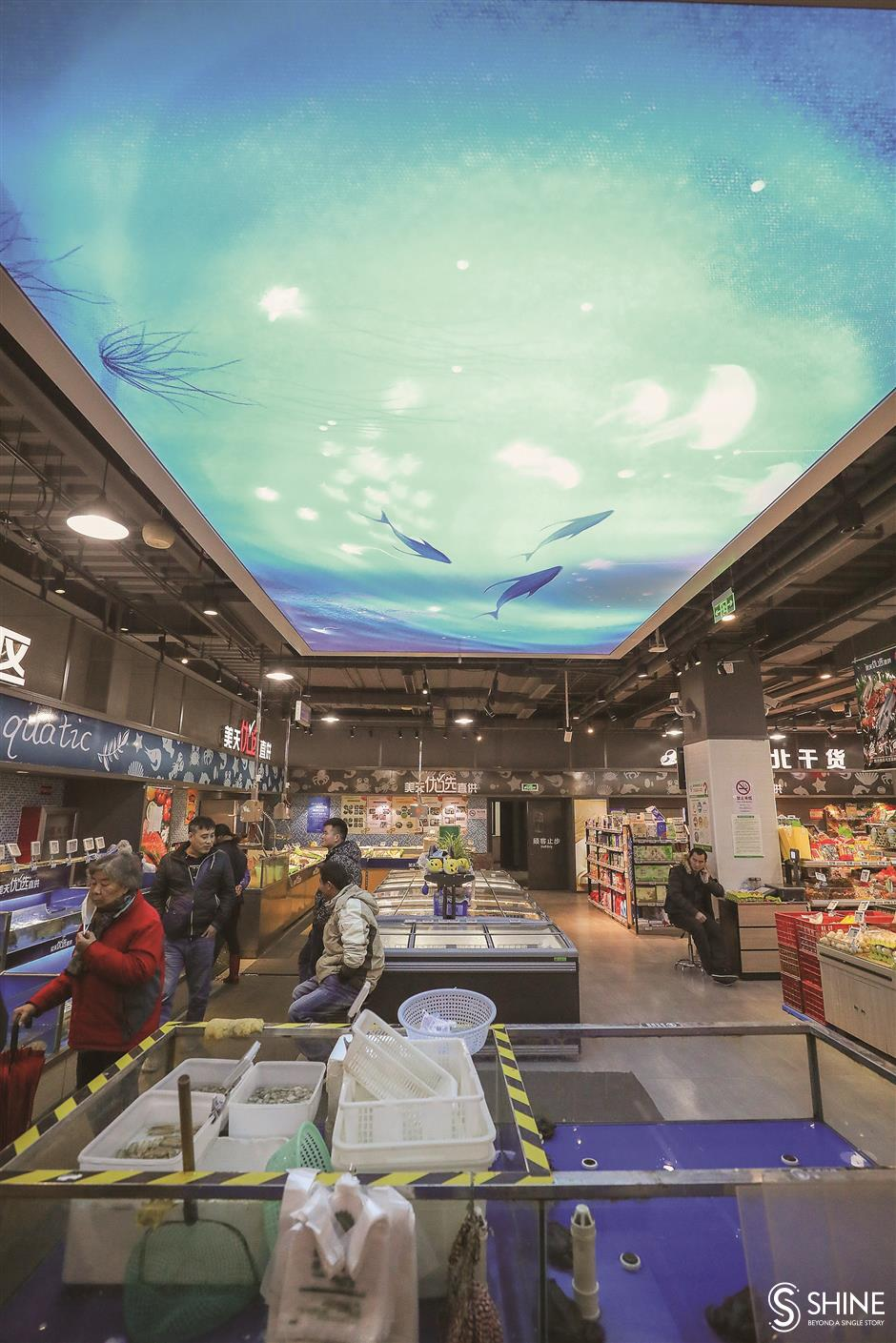 Once dingy wet markets clean up theiract to woo back customers