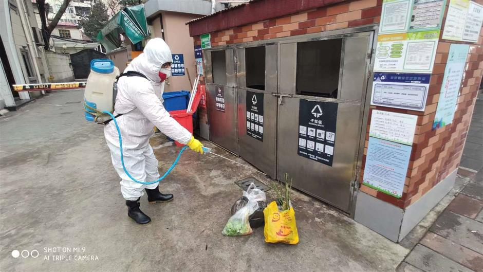 A day in the life of a disinfection worker