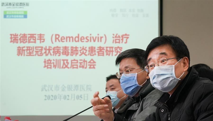 China lab seeks patent on use of Gilead's coronavirus treatment