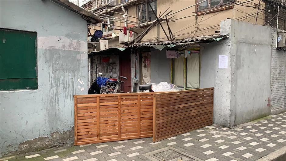 From beds to barricades – keeping Jing'an safe