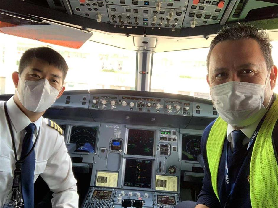 Foreign pilots join fight against outbreak