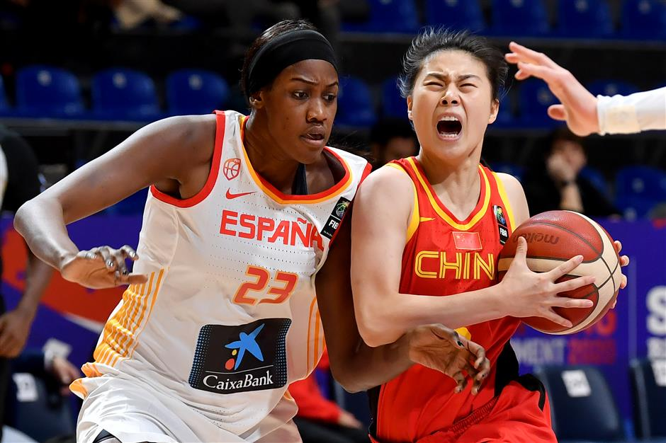 Chinese women's basketball advancing in difficulties