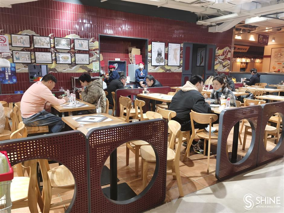 Diners prefer take-away on return to work